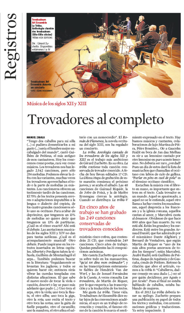 2011- La Vanguardia