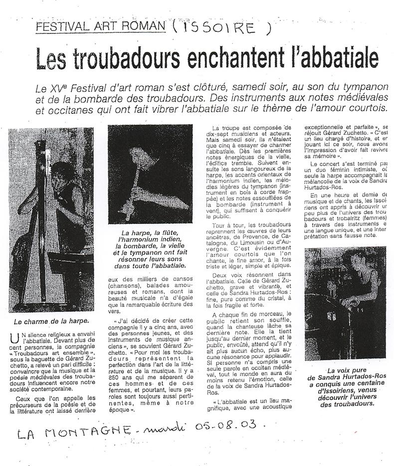 2003 - La Montagne
