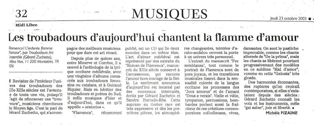 2003 - Midi Libre