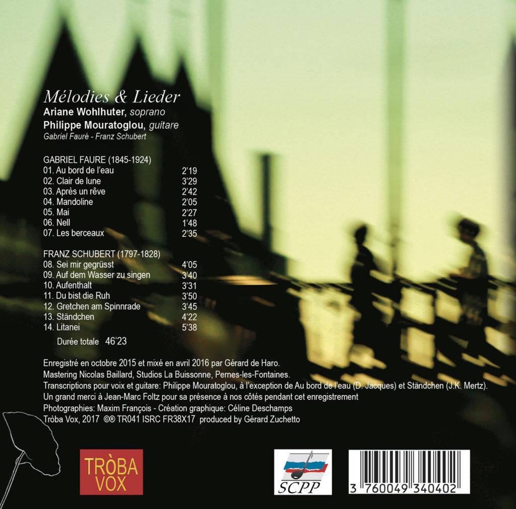 Melodies & Lieder
