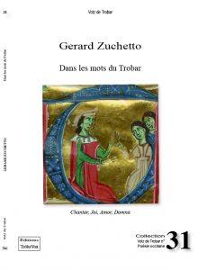 Dans les mots du Trobar - Gerard Zuchetto - Votz 31